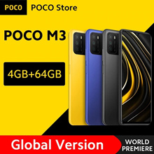 Global Version ❤New❤  POCO M3 Smartphone Snapdragon 662 Octa Core 4GB RAM 64GB ROM 6000mAh Battery