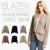 [New Updated 05/28]Womens Blazer and Jacket_Jacket Short/Long_Premium Quality/ Blazer Cardigan Jacket Pakaian Wanita Jaket Office look