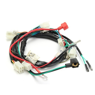 ATV QUAD BIKE WIRING LOOM HARNESS FOR ELECTRIC START 50cc 70cc 90cc 110cc  125cc