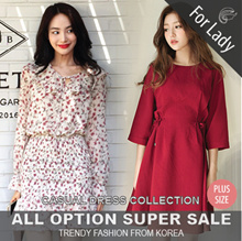 16th Mar Update New Arrivals ♥Korean Style♥ Linen / Casual Dress / LOOSE Fit  / Basic / Plus size