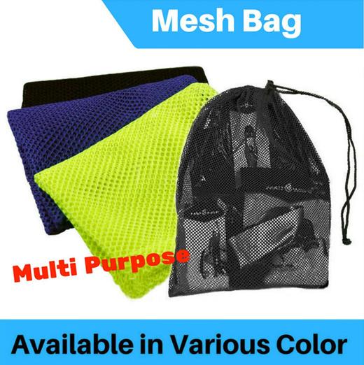 Qoo10 Mesh Bag Sports Equipment