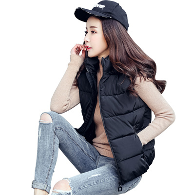 b4192238634 2018 Casaco Feminino Colete Feminino Zmhwnfe Plus Size Winter Women Vest  Hooded Jacket Warm Gilet La