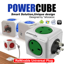 ★Limited Quantity★ Allocacoc Powercube / Power Socket / Charger / Travel Adapter/ USB charger / Plug