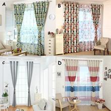 Vogue Door Window Curtain Tulle Voile Drape Panel Sheer Scarf Valances Window Decor