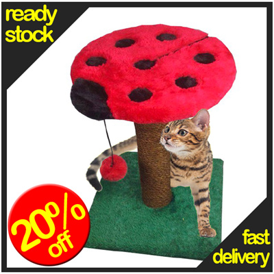 * READY STOCK *BUDGET cat tree / scratching post .......