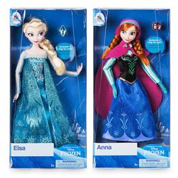 1+1 디즈니 정품 클래식 엘사 안나 라푼젤 마론인형 관절인형 11종 중 선택