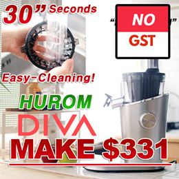 ★Easy-Cleaning!!★All New HUROM DIVA H-100 Whole Slow Juicer / Easy Clean Blender Smoothie