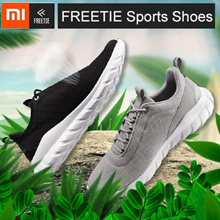 Xiaomi FREETIE Sports Shoes Lightweight Ventilate Elastic Breathable Refreshing City Running Sneaker