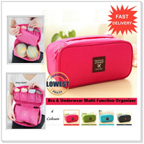 【CHEAPEST+GOOD QUALITY】Bra Underwear Multi-Function Waterproof Travel Organizer Storage *LOCAL SELLER*FAST SHIPPING*