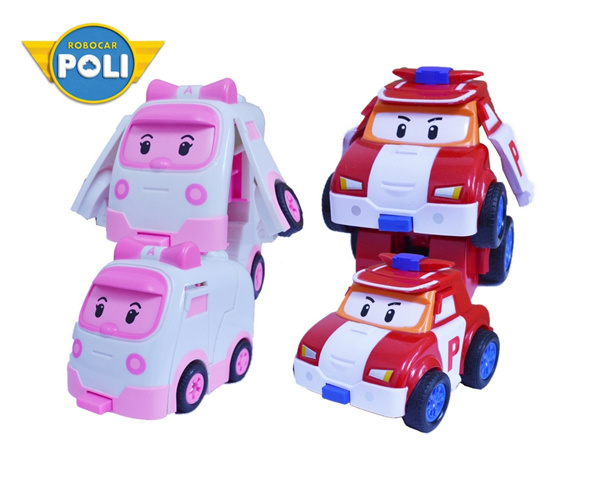 Robocar Poli Transformable Robot Car Kids Toy Deals for only RM9.9 instead of RM9.9