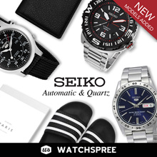 *APPLY 25% OFF COUPON* Seiko Automatic and Quartz Watches! SNK SNKE SNKK SNKL. Free Shipping!