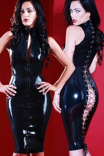 PVC Leather Dress