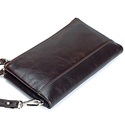 SaoLangtame Genuine Leather Men Clutch Wallets Male Large Capacity Card Holder Long Zipper H y Bag