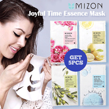 (GET 5 PCS FREE ONGKIR) MIZON JOYFUL TIME ESSENCE MASK