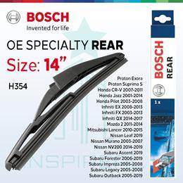 Bosch H354 Rear Wiper 14 inch for Fit, Jazz, CRV, Airwave, Freed, Kia Sportage  Subaru Impreza