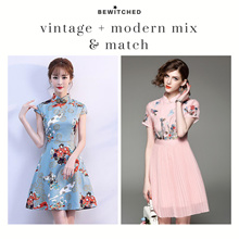 ad3ca85f83d ✭Bewitched✭ CNY Modern Vintage Qi Pao Cheongsum Cheong sum Traditional  Dress  local