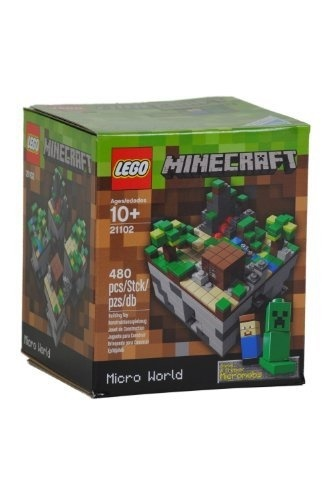 Qoo LEGO Minecraft Micro World Kind Spiel - Minecraft spiele lego
