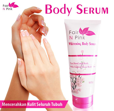 Original Fair n Pink Whitening Body Serum 160 ml Deals for only Rp105.000 instead of Rp105.000