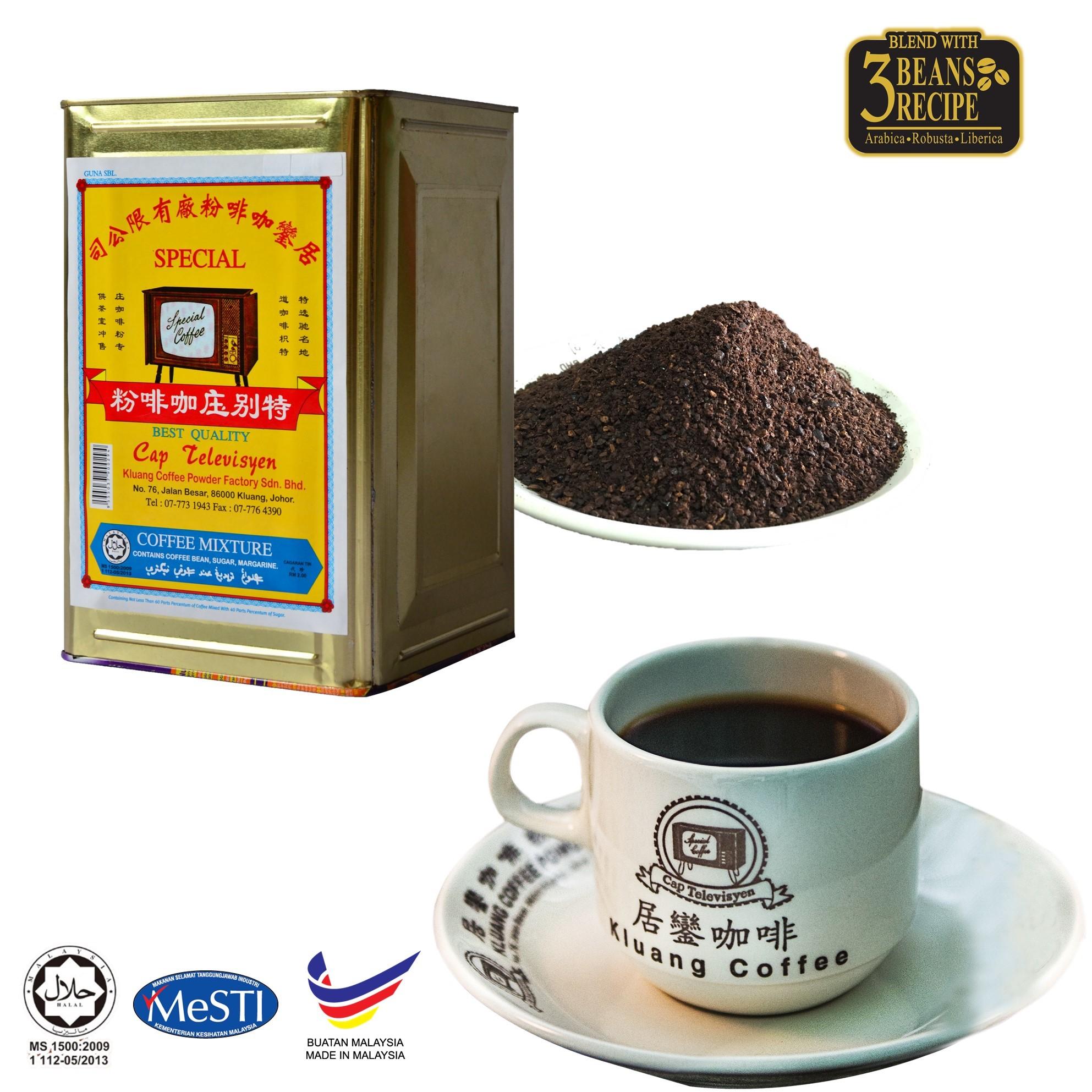 91f78b5811c Qoo10 - Kluang Black Coffee Kopitiam Powder 3kg CAP ...