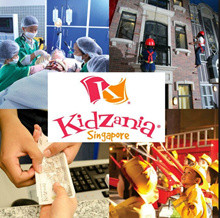 Kidzania E- Ticket for Child / Adult Kidszania Sentosa/Kidszania Singapore [Open Date] 趣志尼亚电子票