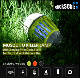 Mosquito Killer USB Rechargeable Waterproof  LED Lamp ★ Indoor And Outdoor Activity ★
