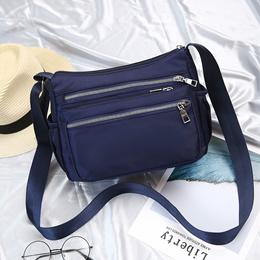 bag/Crossbody bag lightweight waterproof nylon packets shoulder cloth bag Lady cross bag middle-aged
