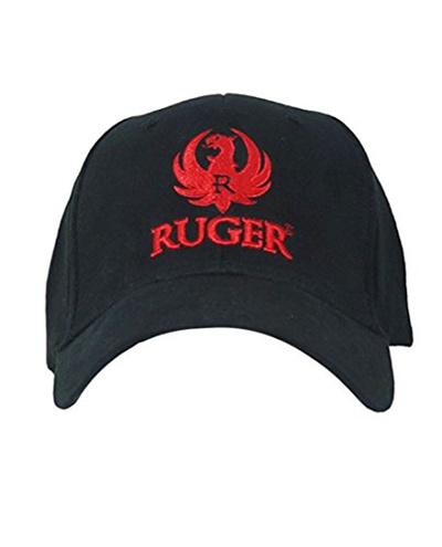 497d7c4165724 Qoo10 - RUGER Mens 3D Logo Fitted Hat L XL Black   Men s Apparel