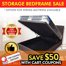 DIRECT FACTORY SALE STORAGE BED SPRING MATTRESS SINGLE SUPER SINGLE QUEEN KING LIMITED TIME OFFER