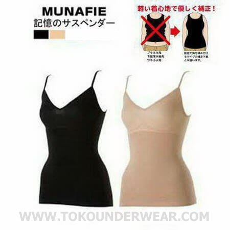 Baju Korset Munafie Camisole / Tank Top Body Slimming Deals for only Rp49.000 instead of Rp49.000