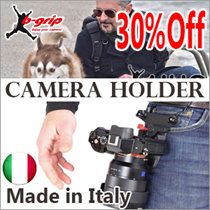 B-GRIP made in Italy Camera Accessories Canon Nikon GoPro Sonny Panasonic/ camera holder/ sports