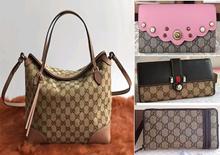 100% Luxury Ladies Hand bag Tote bag Sling bag Shoulder Bag Wallet