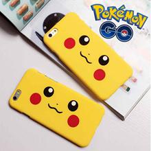 Pokemon GO Handphone Case for Iphone6/6s Plus PIKACHU COVER iPhone 6 6s Plus