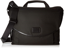[Shipping from USA]Tumi Alpha Slim Messenger Shoulder Bag, Black, One Size