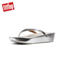 [NEW] FITFLOP LINNY TOE-THONG SLIVER MIRROR ★100% Authentic★