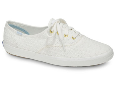KEDS - KDZ-WF57971-CHAMPION DOT EYELET.White. WOMEN SHOES KDZ0002453.C2158