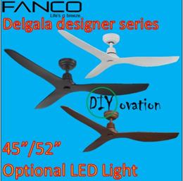 Fanco DC Ceiling Fan Delgala Design Fan 52 / 45 inch