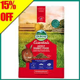 15% off- Oxbow Rabbit Food (Adult Rabbits) 10lbs