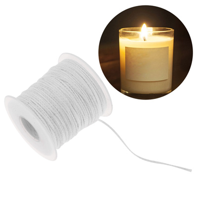 30pcs 10cm Candle Wicks Cotton Core Pre Waxed With Sustainers Candle Making c CA