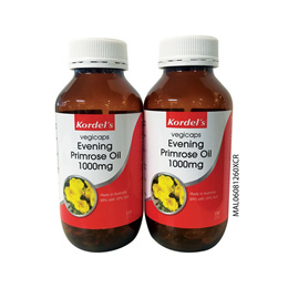 VEGICAPS EVENING PRIMROSE OIL 1000MG 2 X 150 S 2X150 S