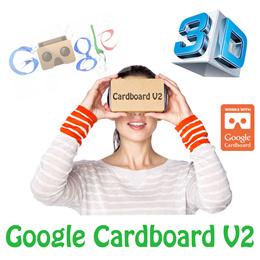 ★★Google Cardboard Version 2★★2015 I/O Cardboard★★Stock in SG★★Google Cardboard V2★★Virtual Reality(VR)★★3D glasses★★Apple iPhone 6 plus/ Samsung Note 2 3 4 S4 S5/ HTC / LG / Xiaomi / Nexus