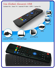 Smart TV Box Remote Control / Air Mouse / Wireless Keyboard Android / TV Remote Control / MX3