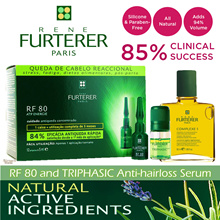 ★FRESH STOCKS★ RENE FURTERER RF 80 | TRIPHASIC Hair Loss n Strengthening Serum. 3 PATENTS~!