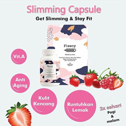 Fleecy Slimming Capsule (FSC) / Fleecy Slimming Capsules BPOM Halal