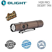 Olight M2R Pro Warrior Desert Tan (Limited Edition) LED Flashlight