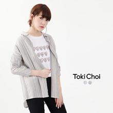 TOKICHOI - Oversized Striped Shirt-6021012-Winter