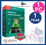 Kaspersky Internet Security 2020 - 1 PC 1 YEAR