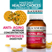LIMITED to First 88QTY! [RETAIL: $129] 1YEAR SUPPLY!  BLACKMORES ROYAL JELLY 365 TABS. BEST QUALITY ROYAL JELLY. YOUTHFUL GLOW WITH CELL REGENERATION AND ANTI OXIDANTS EXP 13/01/18