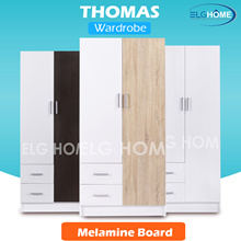 【THOMAS】Wardrobe/Cabinet/Cupboard/Home Organizer/Furniture/Office/Rack/Modern Wardrobe/cloth storage