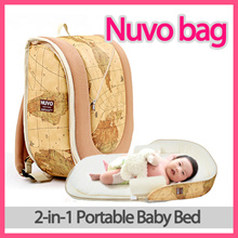 ★Lauching Event!★ Nuvo Bag 2-in-1 Portable Baby Bed Backpack/ Free Gift Pouch / 0~12 months old