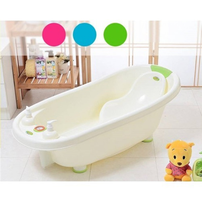 qoo10 baby bathtub eco friendly portable swimming tub with heat temperature baby maternity. Black Bedroom Furniture Sets. Home Design Ideas